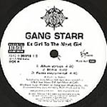 "Gang Starr - Ex Girl to Next Girl 12"" Single"