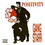 "Gang Starr - Positivity 12"" Single"