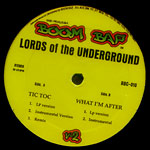 "Lords of the Underground - Tick Tock 12"" Single"