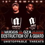 "DJ Muggs vs. GZA - Destruction of Guard rmx 12"" Single"