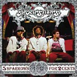 The Procussions - 5 Sparrows For 2 Cents CD