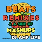 Amp Live (Zion I) - Beats, Remixes & Mashups CD