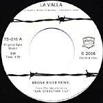 "Bronx River Parkway - La Valla 7"" Single"