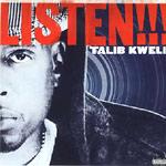 """Talib Kweli - Listen!!! 12"""" Single"""