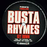 "Busta Rhymes - Get Down 12"" Single"