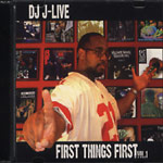 J-Live - First Things First CD