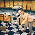SJ Esau - Wrong Faced Cat Feed... LP