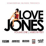 DJ Felt1 - Love Jones vol. 1 CDR
