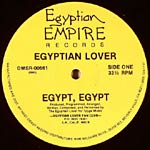 "Egyptian Lover - Egypt, Egypt / Girls 12"" Single"