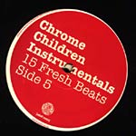 Various Artists - Chrome Instrumentals 2xLP
