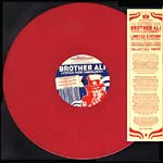 "Brother Ali - Uncle Sam Goddamn (Red) 12"" Single"