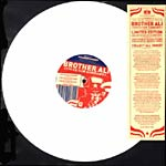 "Brother Ali - Uncle Sam Goddamn (White) 12"" Single"