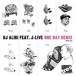 "DJ Alibi - One Day Remix 12"" Single"