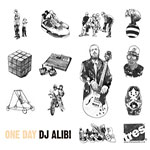 DJ Alibi - One Day 2xLP