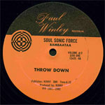 "Afrika Bambaataa - Zulu Nation Throw Down v2 12"" Single"