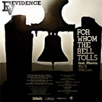 "Evidence - For Whom the Bell Tolls 12"" Single"