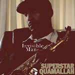 Superstar Quamallah - Invisible Man CD