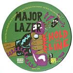 "Major Lazer (Diplo) - Hold the Line 12"" Single"