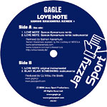 "Gagle - Love Note (Remix) 12"" Single"