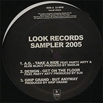 "Various Artists - Look Records Sampler 2005 12"" EP"