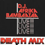 "Afrika Bambaataa - Death Mix Live (re-issue) 12"" Single"