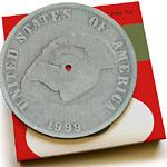 "MF Doom - Dime Box(pic.disk+puzzle) 7"" Single"