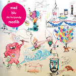 "MED / Blu / Madlib - The Burgundy 12"" EP"