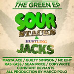 Various Artists - The Green LP: Sour Stacks CD