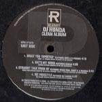 DJ Honda - DJ Honda Clean Album LP