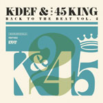 K-Def & 45 King - Back to the Beat Vol. 2 Cassette