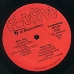 Elusive - 6 Degrees of Separation LP