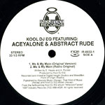 "Aceyalone & Abstract Rude - Me & My Main 12"" Single"