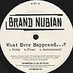 """Brand Nubian - What Ever Happened..? 12"""" Single"""