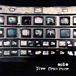 Sole - Live From Rome CD