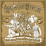 Aesop Rock - Fast Cars.. (CD + Book) CD EP
