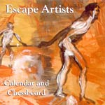 The Escape Artists - Calendar and Chessboard CDR