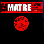 "Matre - 98 Degrees 12"" Single"