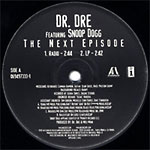 "Dr. Dre - The Next Episode 12"" Single"